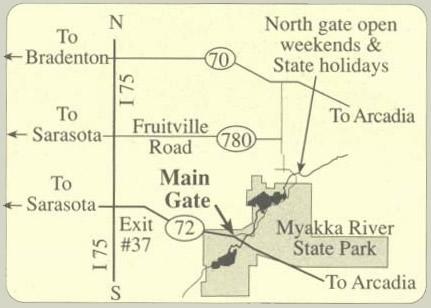 Myakka Map