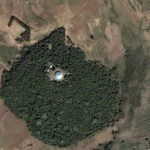 Debresena church forest- South Gondar, Ethiopia (Picture from Google earth)