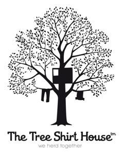 tree shirt house logo small