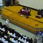 People both panels at Bahir Dar conference