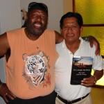 DC Randle and naturalist guide Basilio Sahuarico