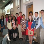 EO Wilson with NRC's Teen Advisory Board