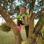 Sara loves to climb trees