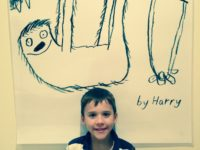 9-yr-old raises money for sloth conservation at birthday party