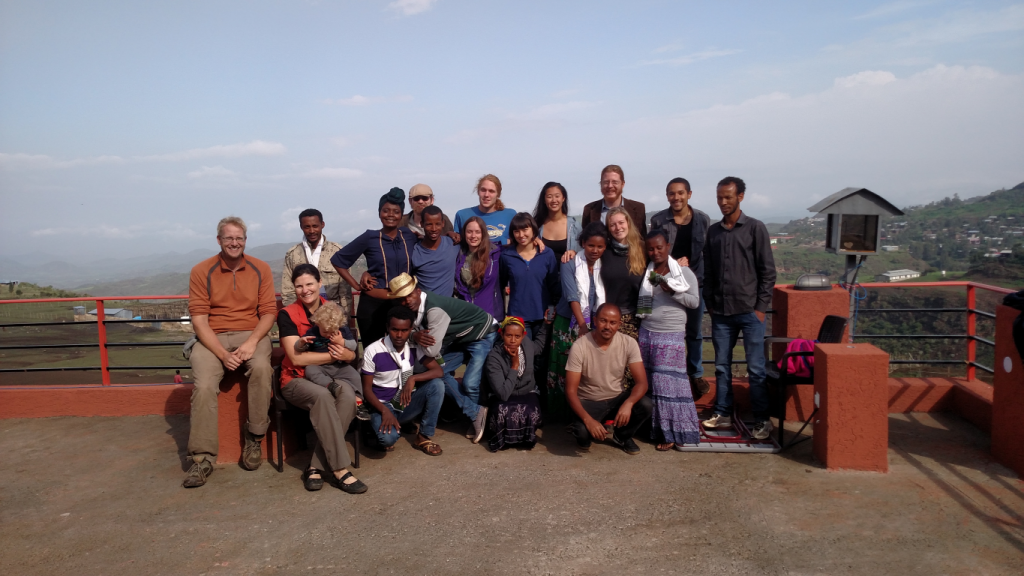 Summer 2015 REU in Ethiopia team with faculty and student partners from Debre Tabor University.