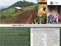 Summer 2017 REU program in Ethiopia – Now Accepting Applications