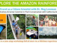 Amazon Rainforest Workshop – Summer 2019